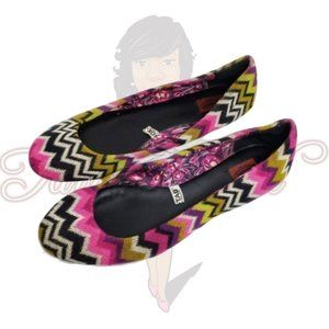 Missoni for Target Chevron Multi-Color Flats